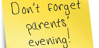 Parents Evening Reminder