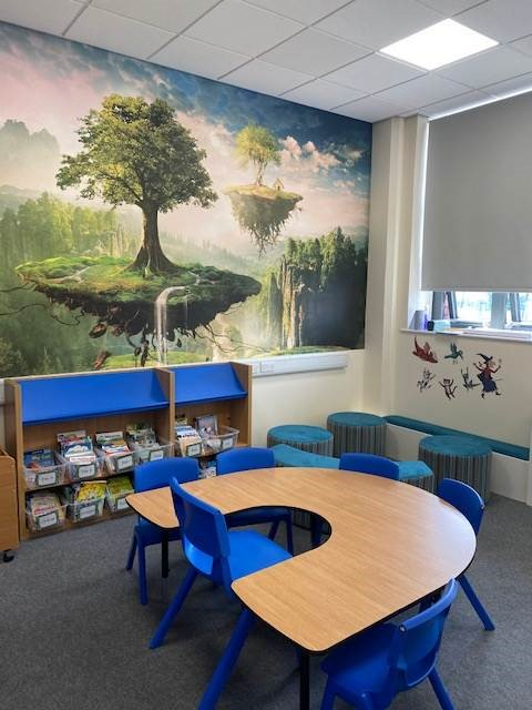 New Library has opened at Oasis Clarksfield