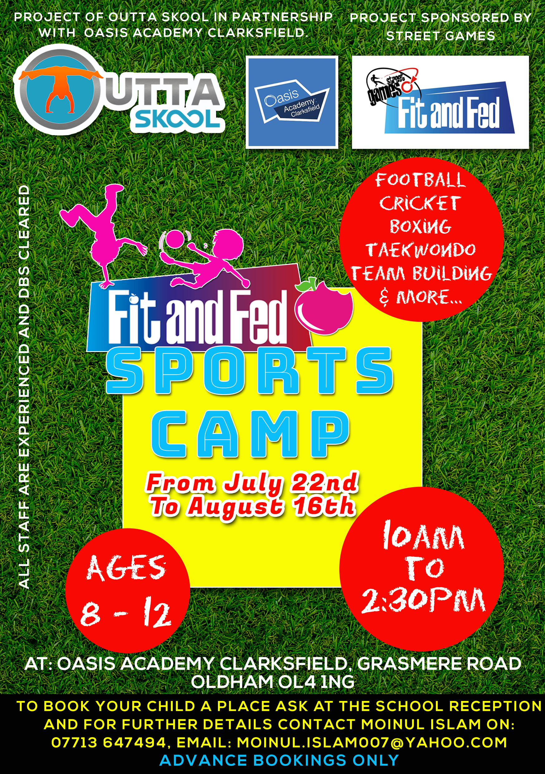 Fit & Fed Sports Camp